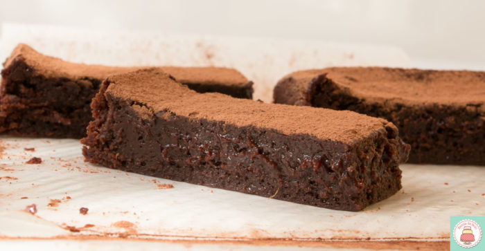 brownie cremoso