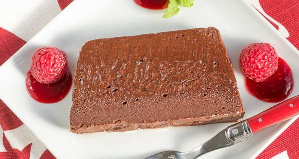terrine de chocolate