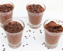 mousse de chocolate sem ovos