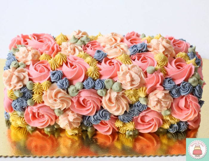 flores de buttercream